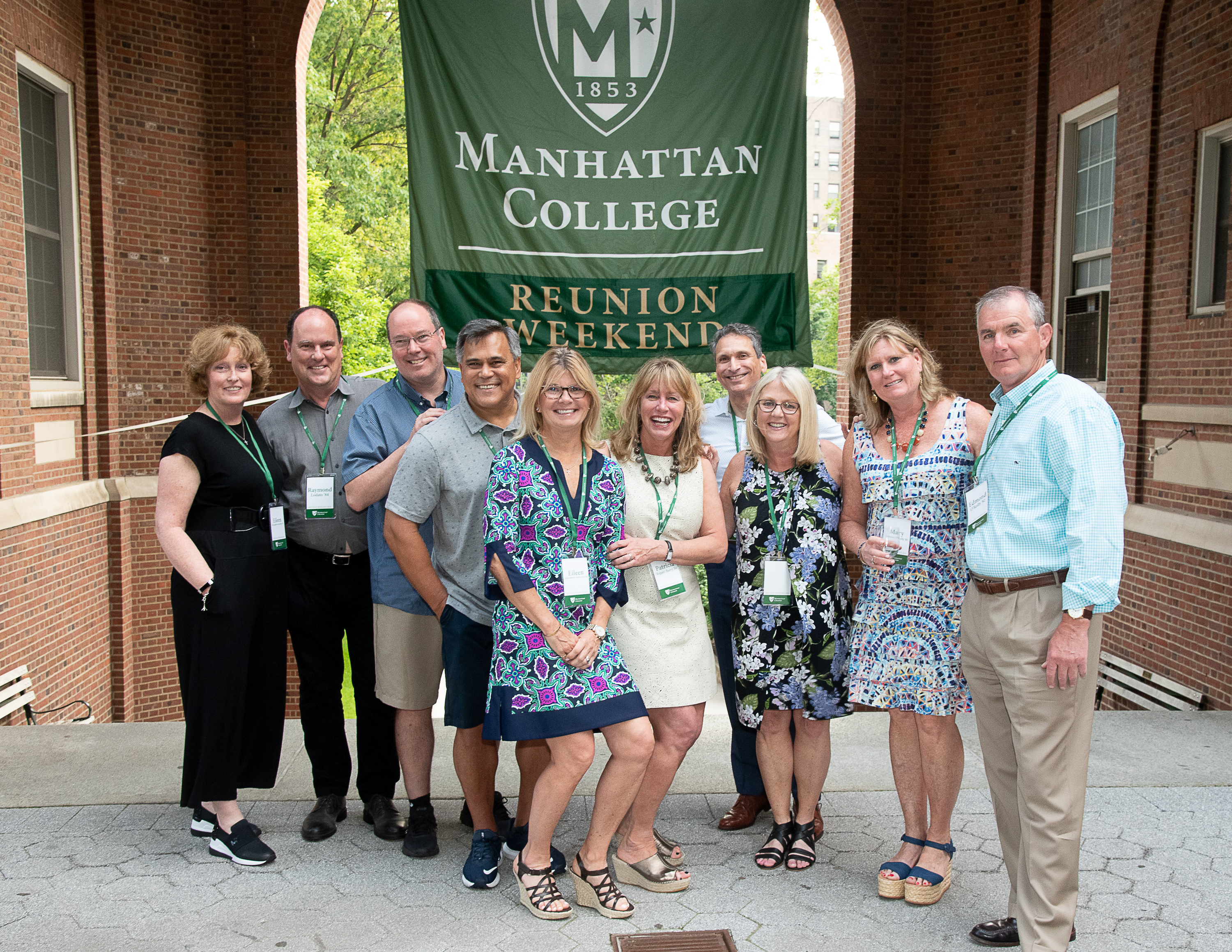 Friends and family join together at reunion weekend 2019.