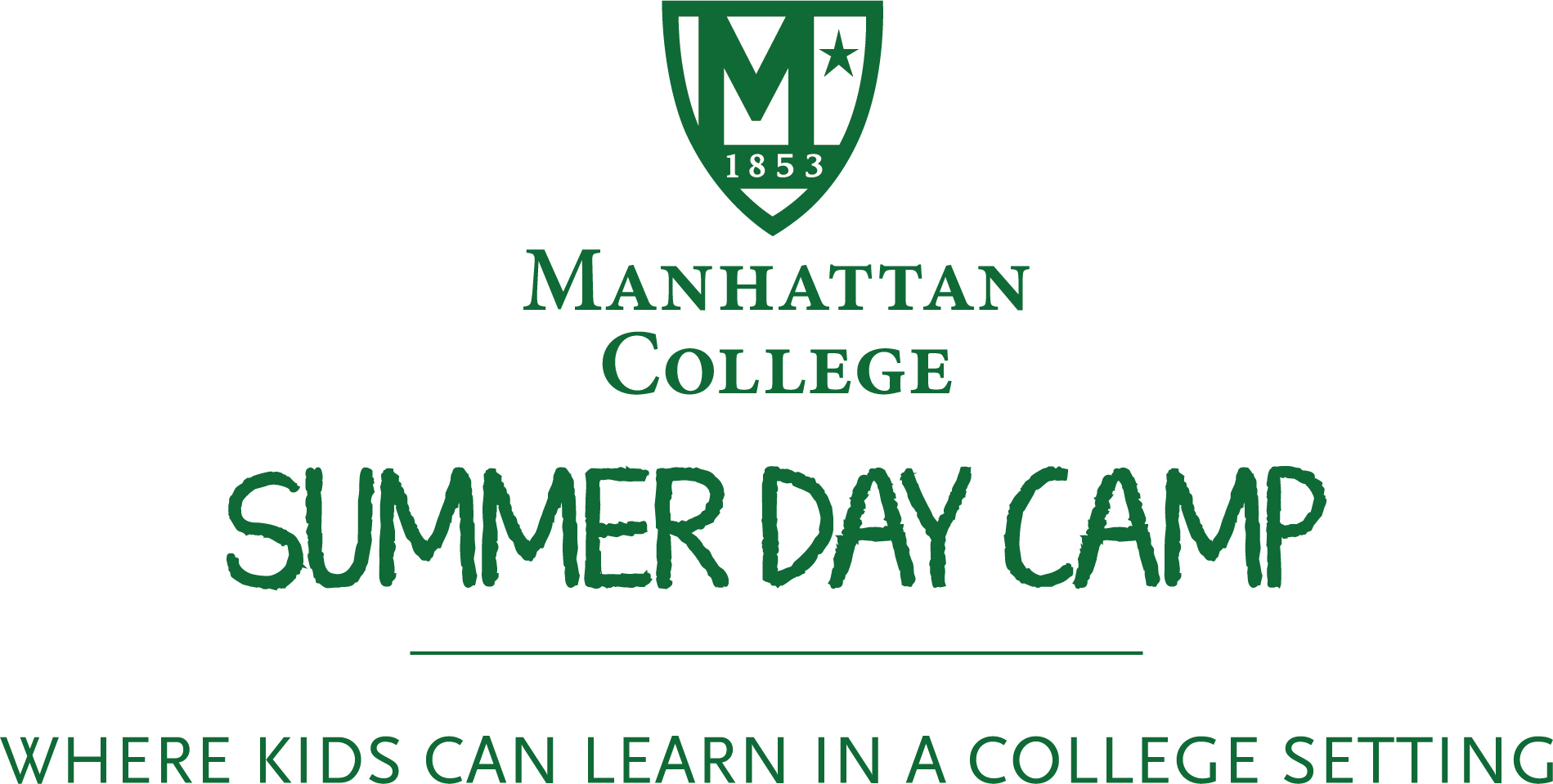 Manhattan College summer day camp logo