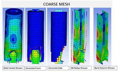 course mesh illustration