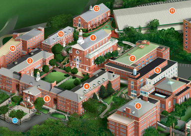 Manhattan College Campus Map Visitor Information | Conference Services