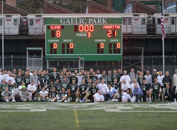 lacrosse alumni game
