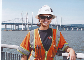 Image of Alessandra Rosso at bridge.
