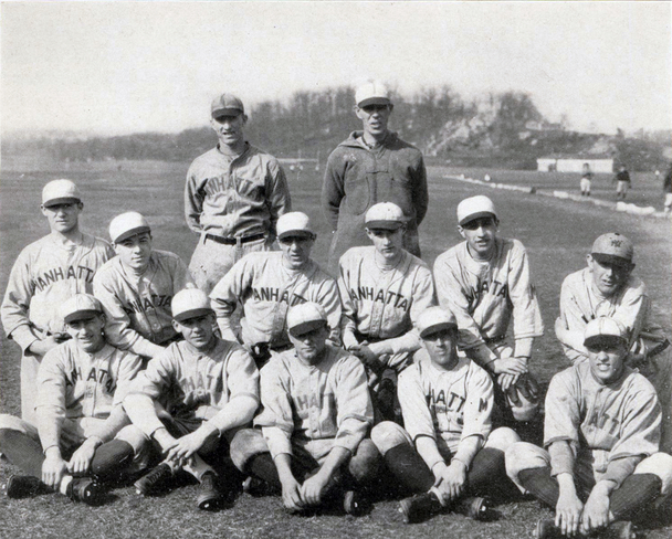 Photograph of 1926 Manhattan College Baseball Team.
