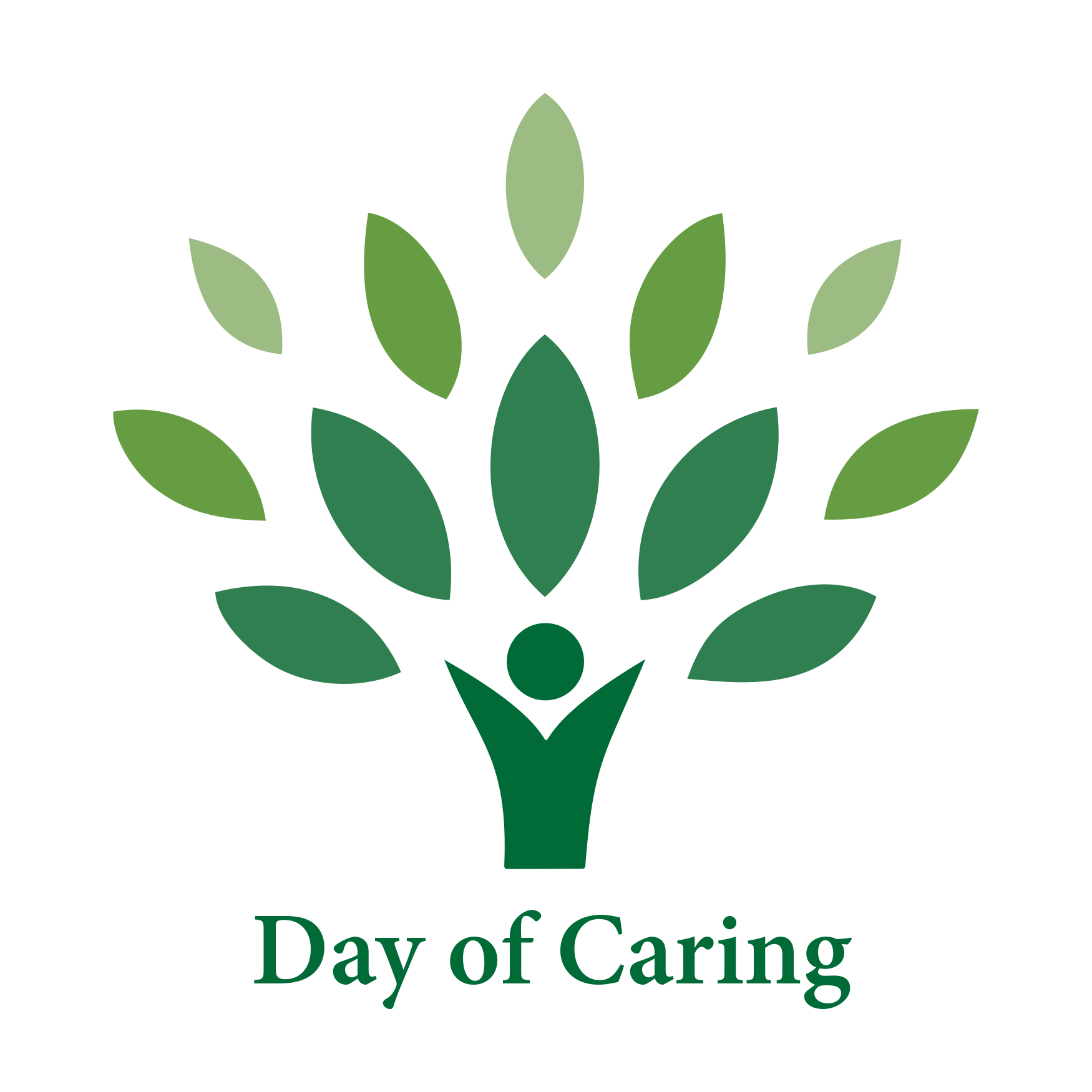 day of caring tree logo