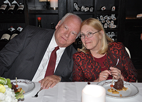 image of michael cesa and wife