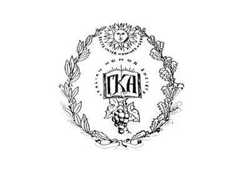 Gamma Kappa Alpha seal