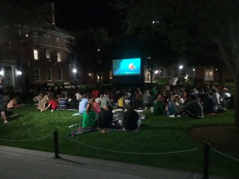 movies on the quad