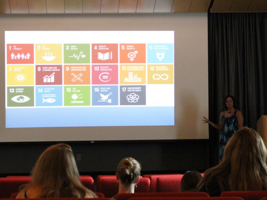 Chasek introduces the sustainable development goals
