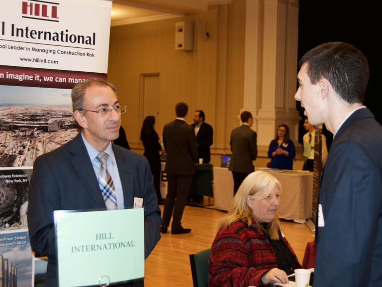 Manhattan College career fair
