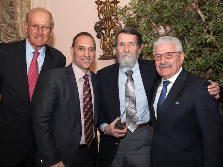 Walter P. Saukin, Ph.D., receives award
