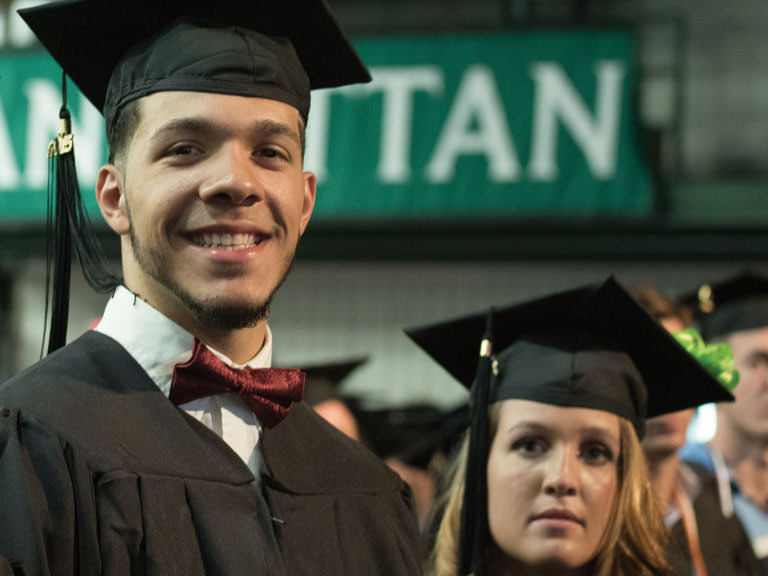 Manhattan College graduates