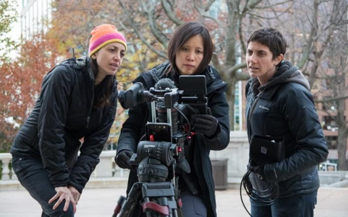 Making a Murderer director Laura Ricciardi and Moira Demos