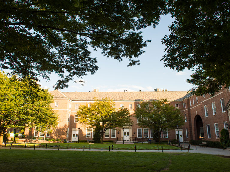 Manhattan College quadrangle