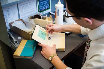 book repair process