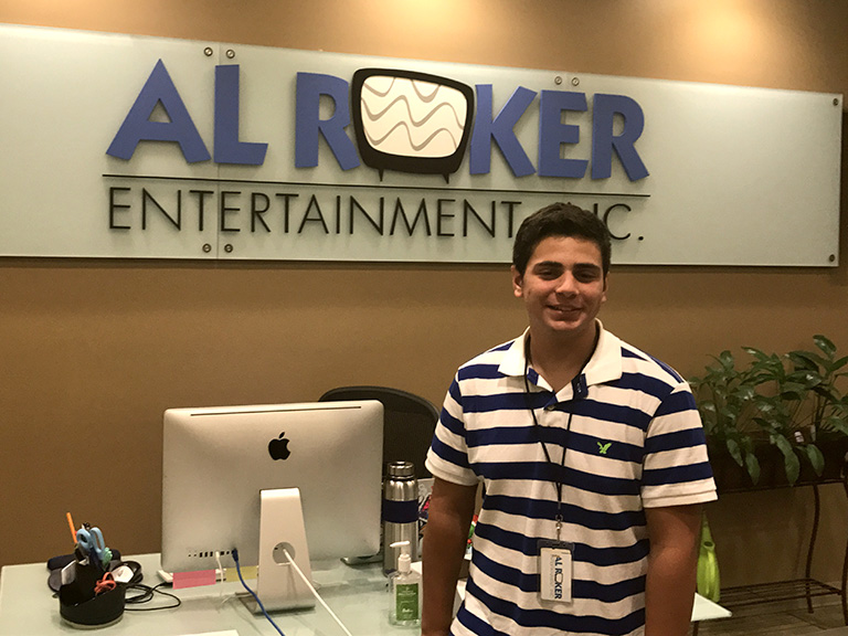 Matt Marcello at Al Roker Entertainment