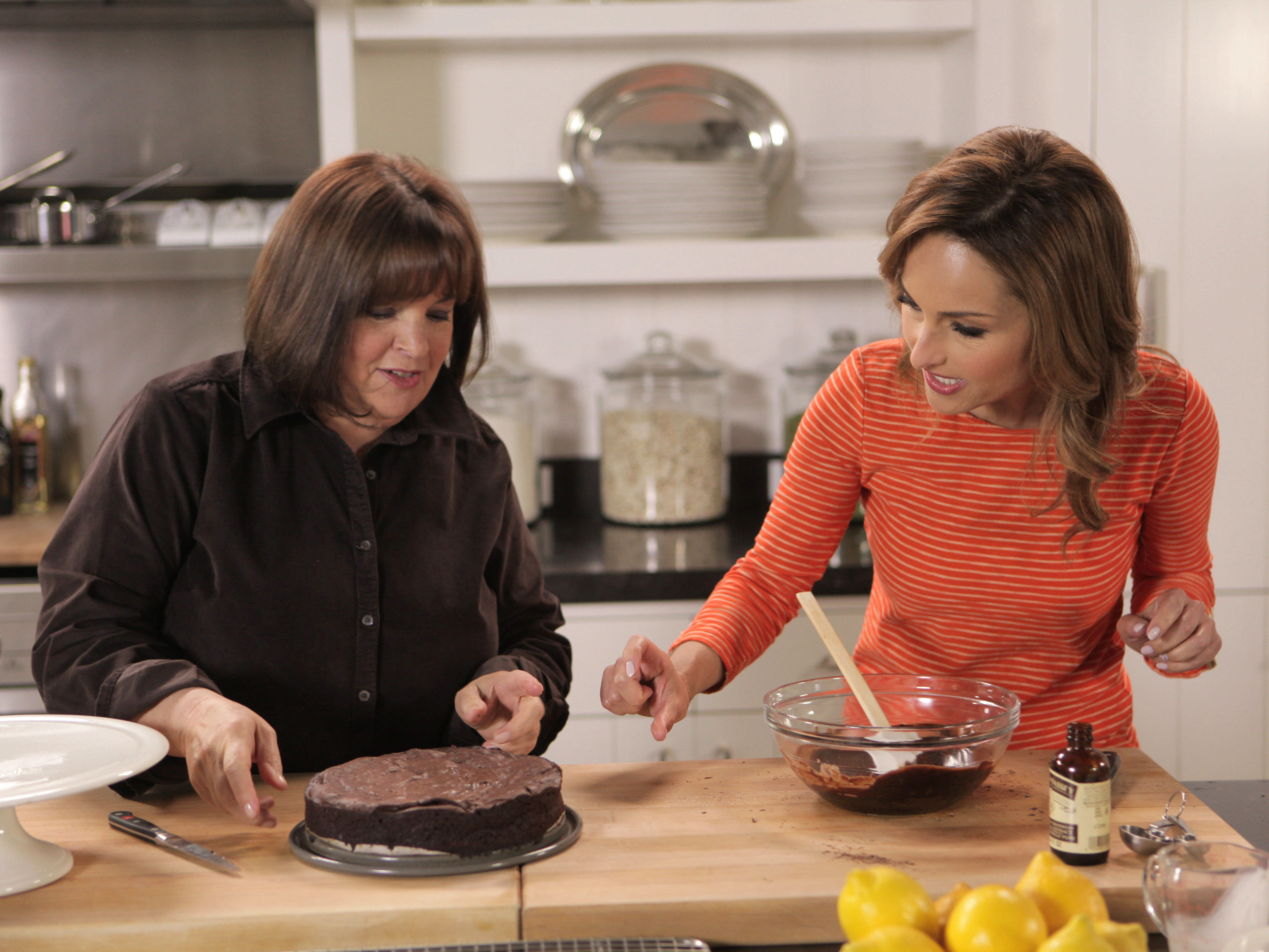 Italian American cooking show hosts