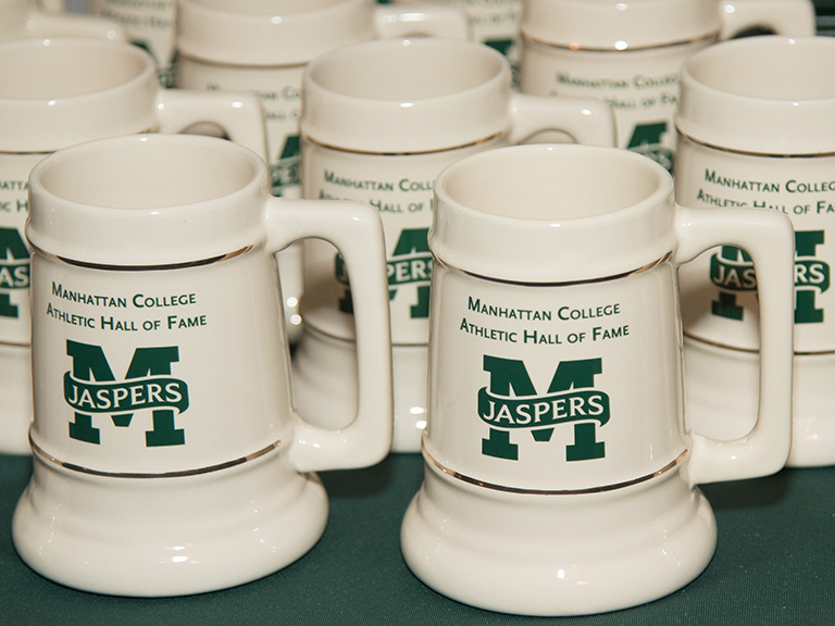 Hall of Fame mugs