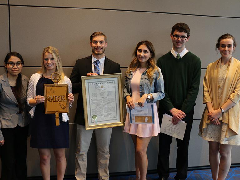 Phi Beta Kappa scholars