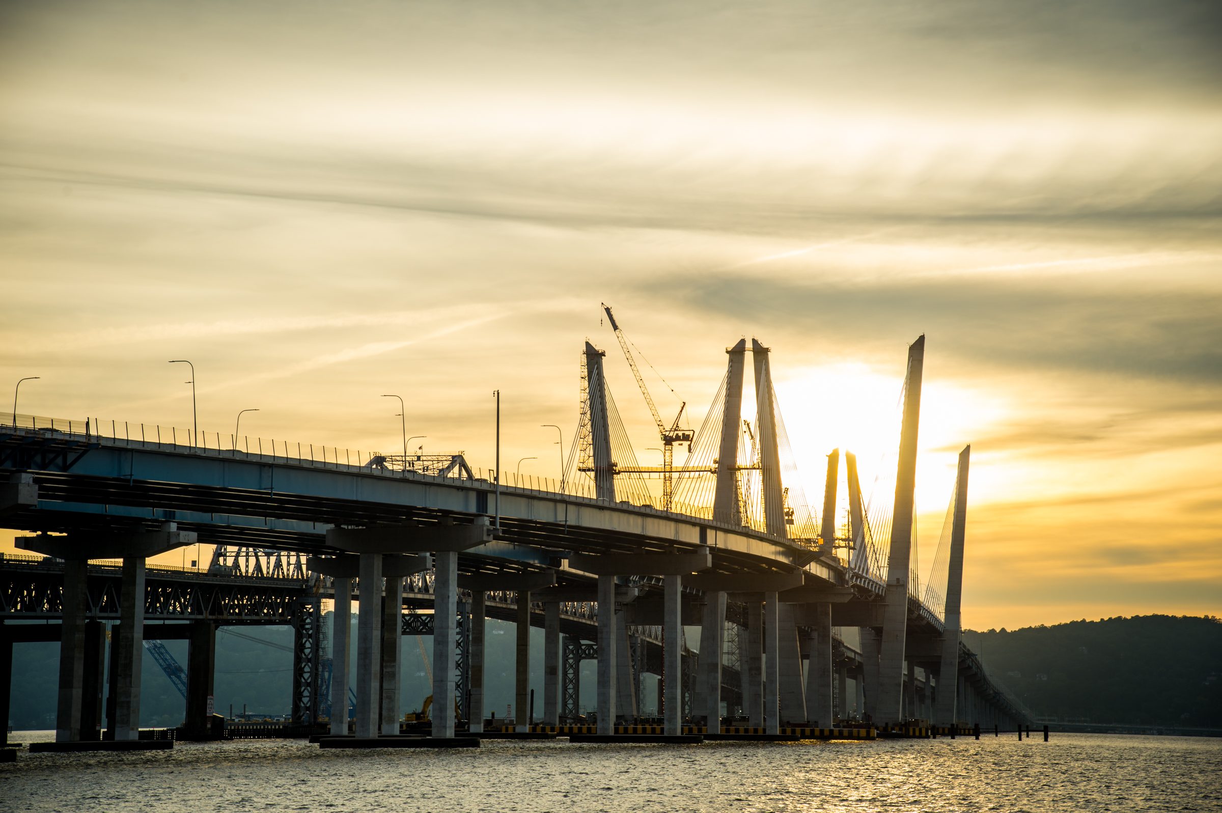Image of Tappan Zee bridge.