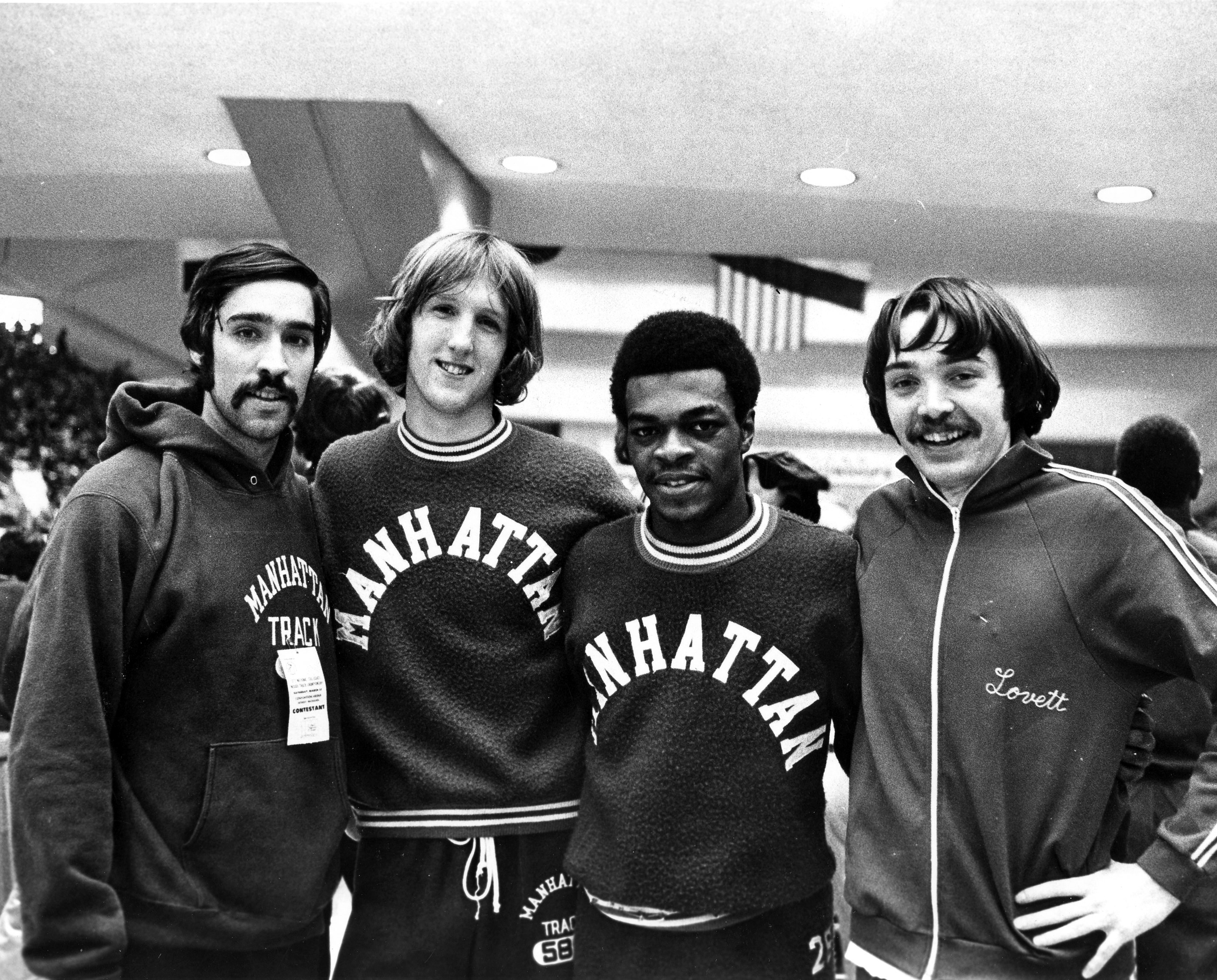 1973 NCAA indoor track and field championship relay team