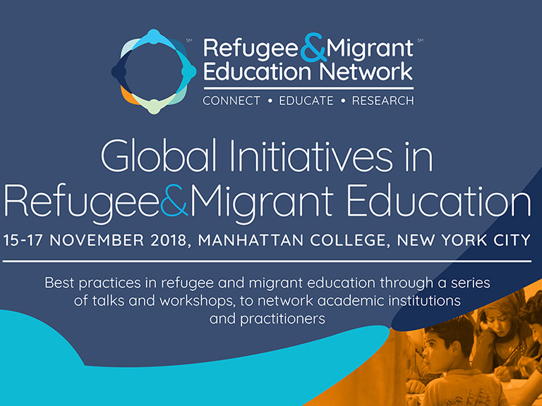 Refugee Migrant Education Conference poster