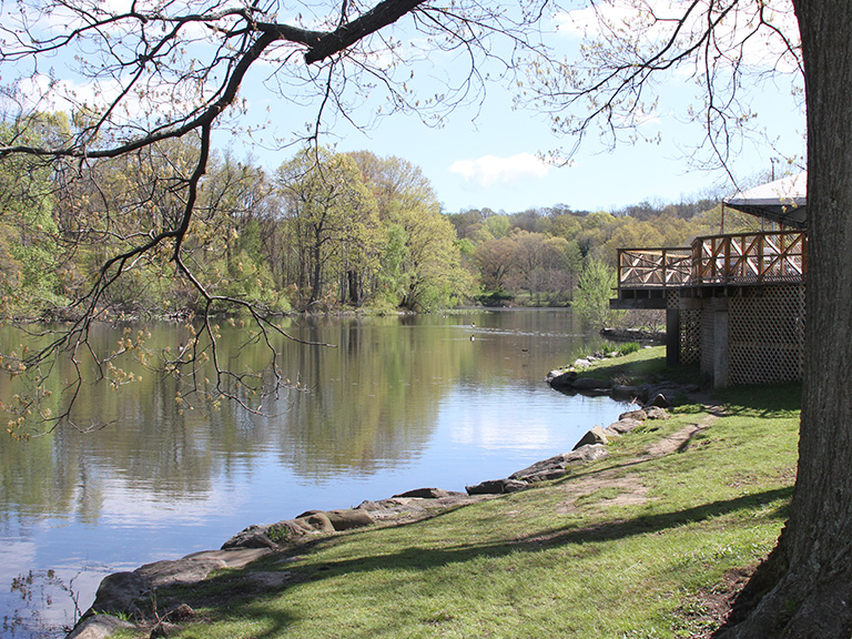 Lake in Van Cortlandt Park
