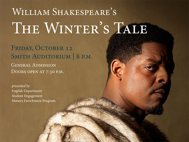 Actor in The Winter's Tale production