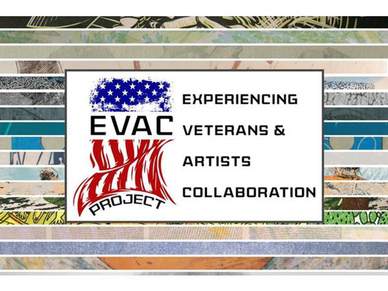 Experiencing Veterans and Artists Collaboration logo