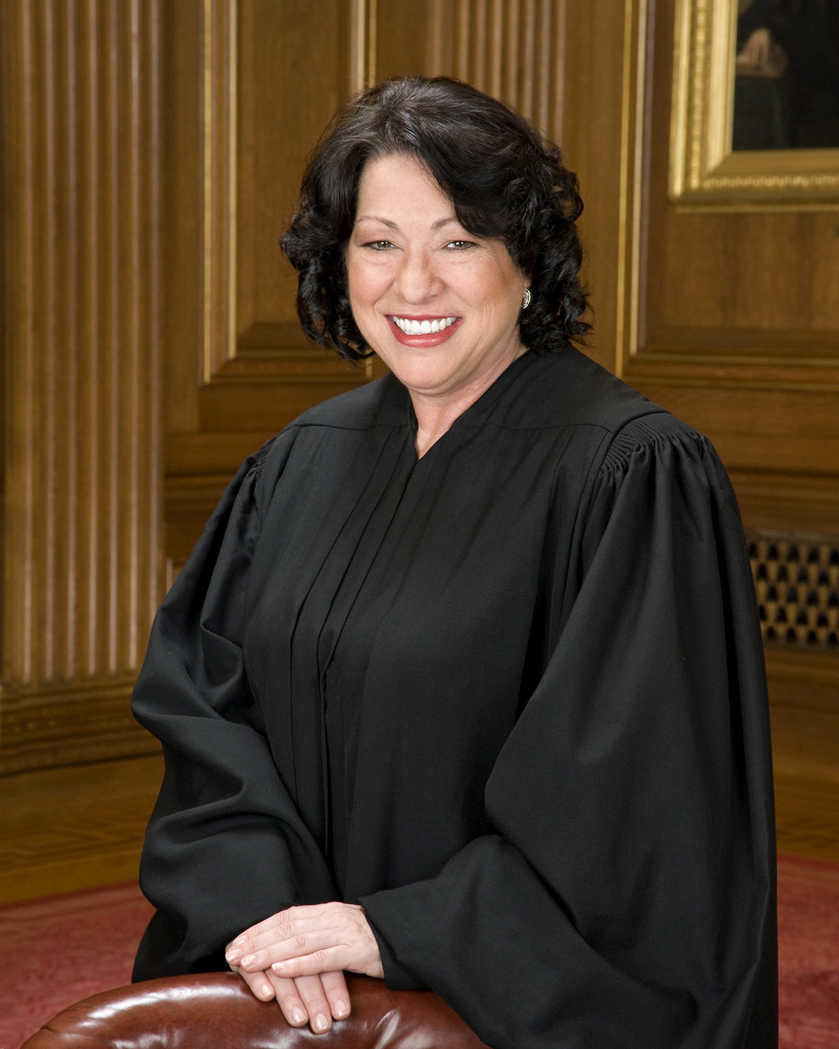 Photograph of Sonia Sotomayor, associate justice of the Supreme Court of the United States.