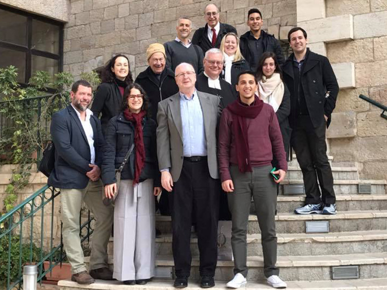 Manhattan College faculty and staff in Bethlehem