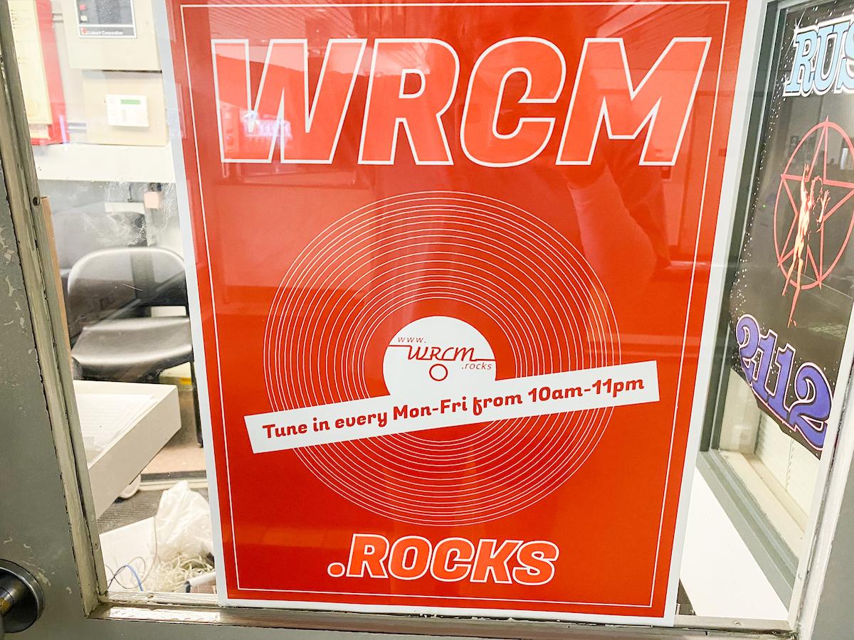 WRCM.rocks advertisement