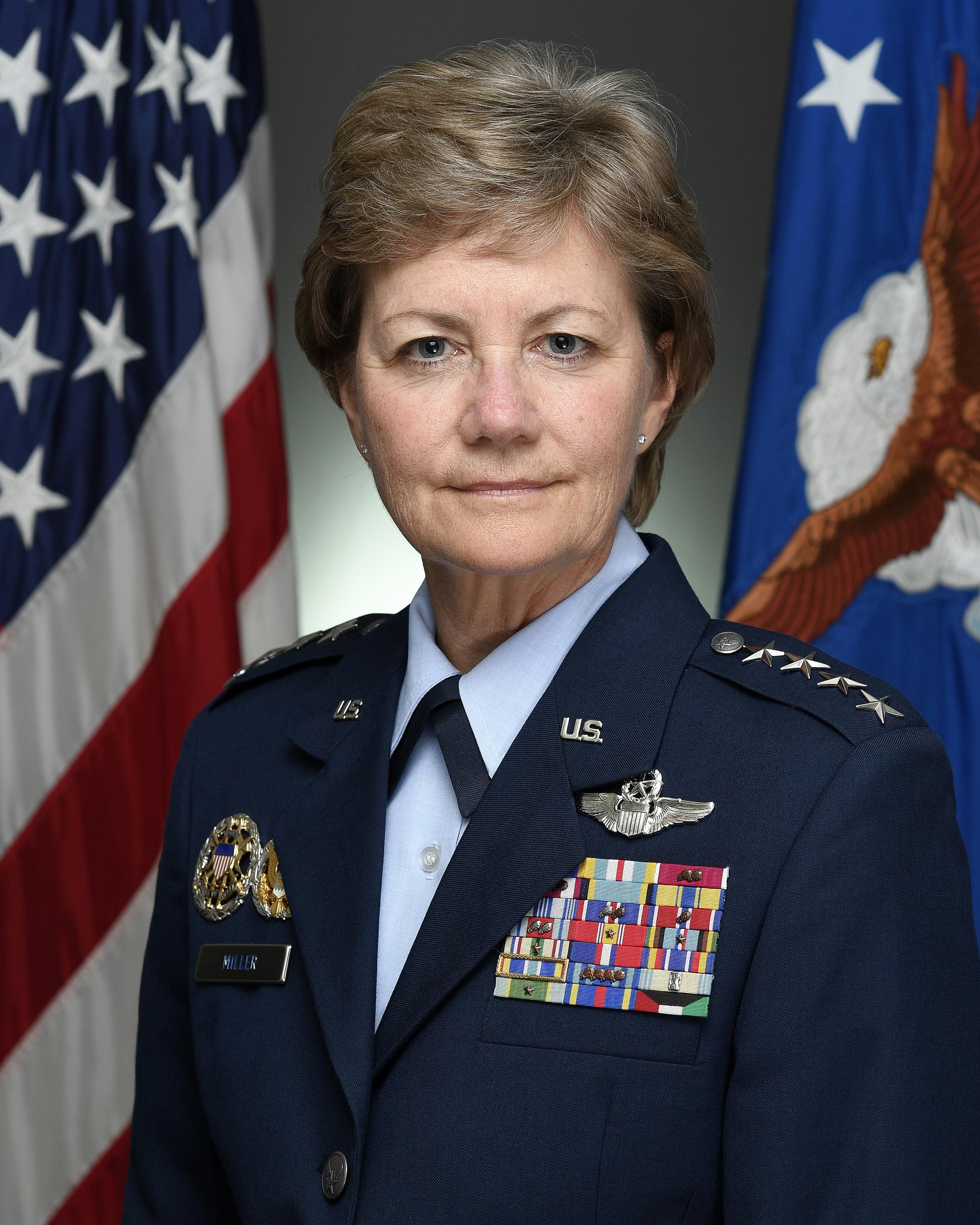 Portrait photo of General Maryanne Miller