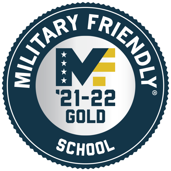 Military Friendly gold recognition logo