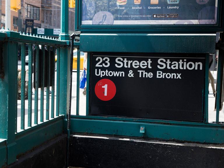 1 train subway stop